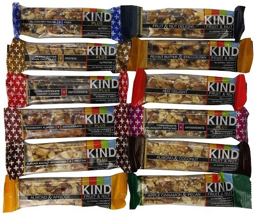 Kind Bars Variety Pack 12 Different Flavors 1 4oz Bars