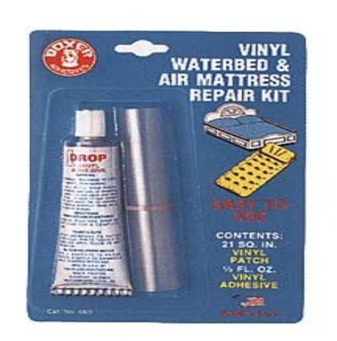 Vinyl Waterbed Amp Air Mattress Repair Kit