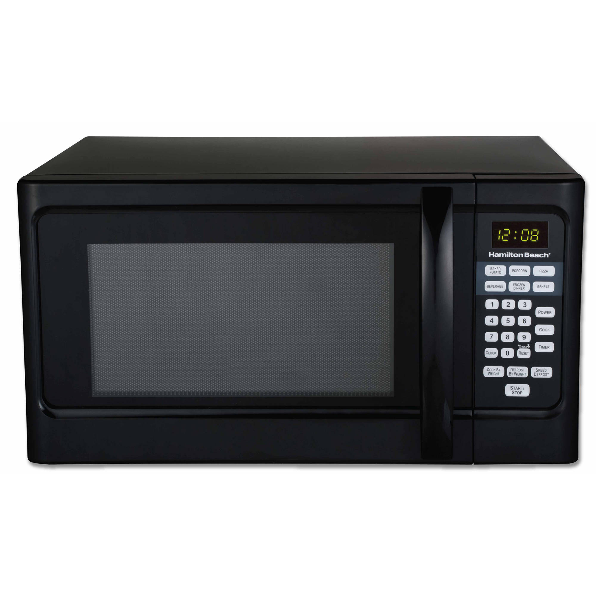 Black Microwave Ovens: Hamilton Beach 1.1 Cu Ft Microwave Oven, Black