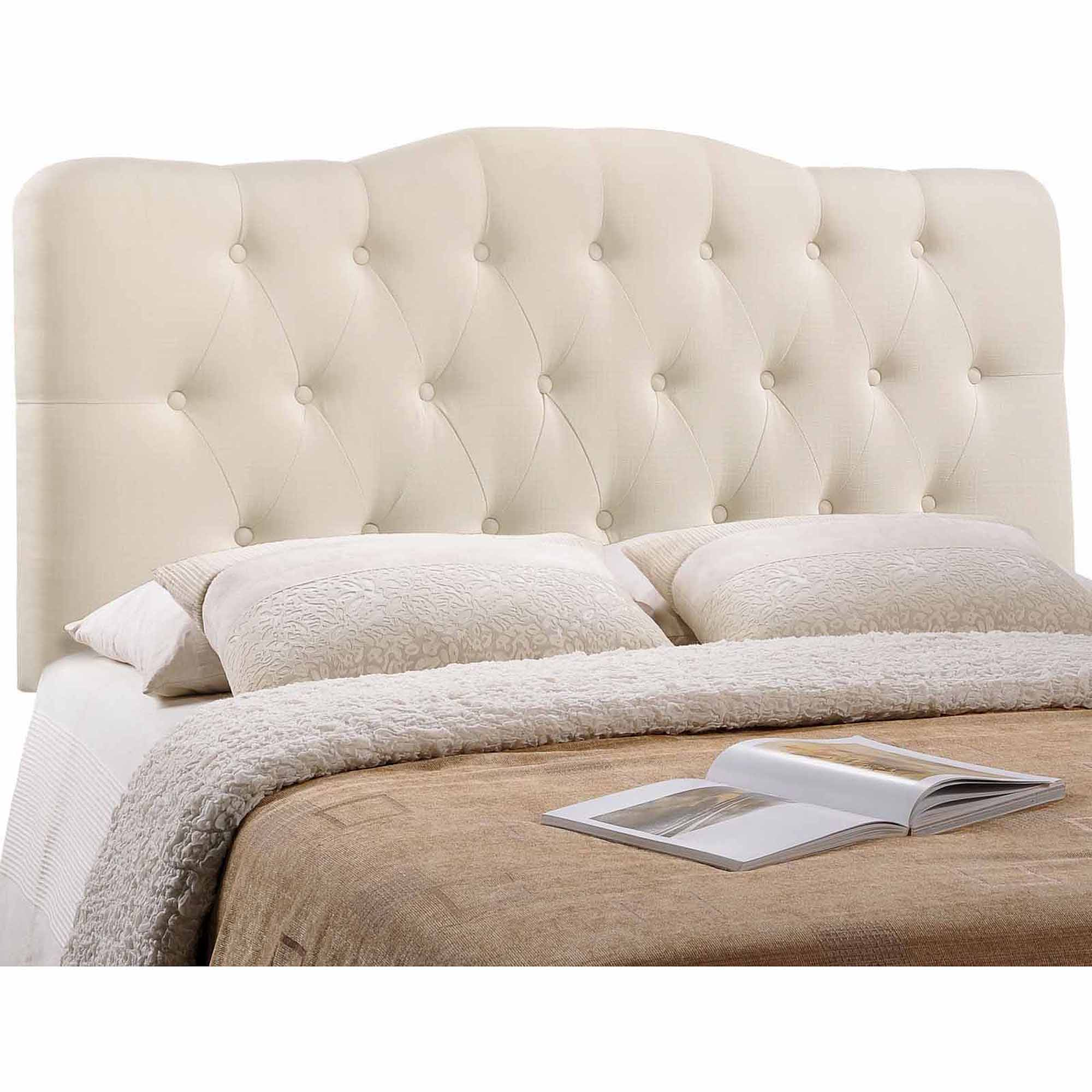 Modway Annabel Full Fabric Headboard Button Tufted Arch