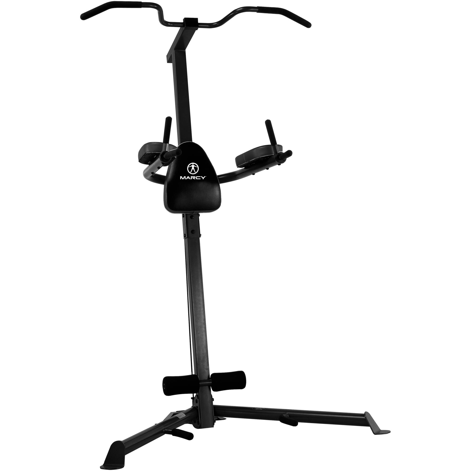 Easy Home Exercise Equipment: Marcy Power Tower TC-3508 Knee Raise & Dip Station Fitness