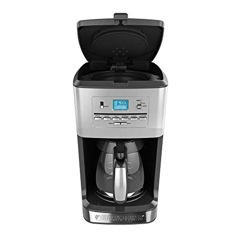 Black Amp Decker Cm3005s 12 Cup Tea And Coffeemaker Silver