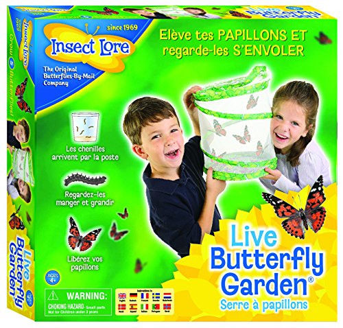 Insect Lore Butterfly Growing Kit - With Voucher to Redeem Caterpillars Later Insect Lore Deluxe Butterfly Garden with Live Cup of Caterpillars and Feeding Habitat Kit out of 5 stars 1, $ Backyard Safari Butterfly Habitat out of 5 stars $/5.