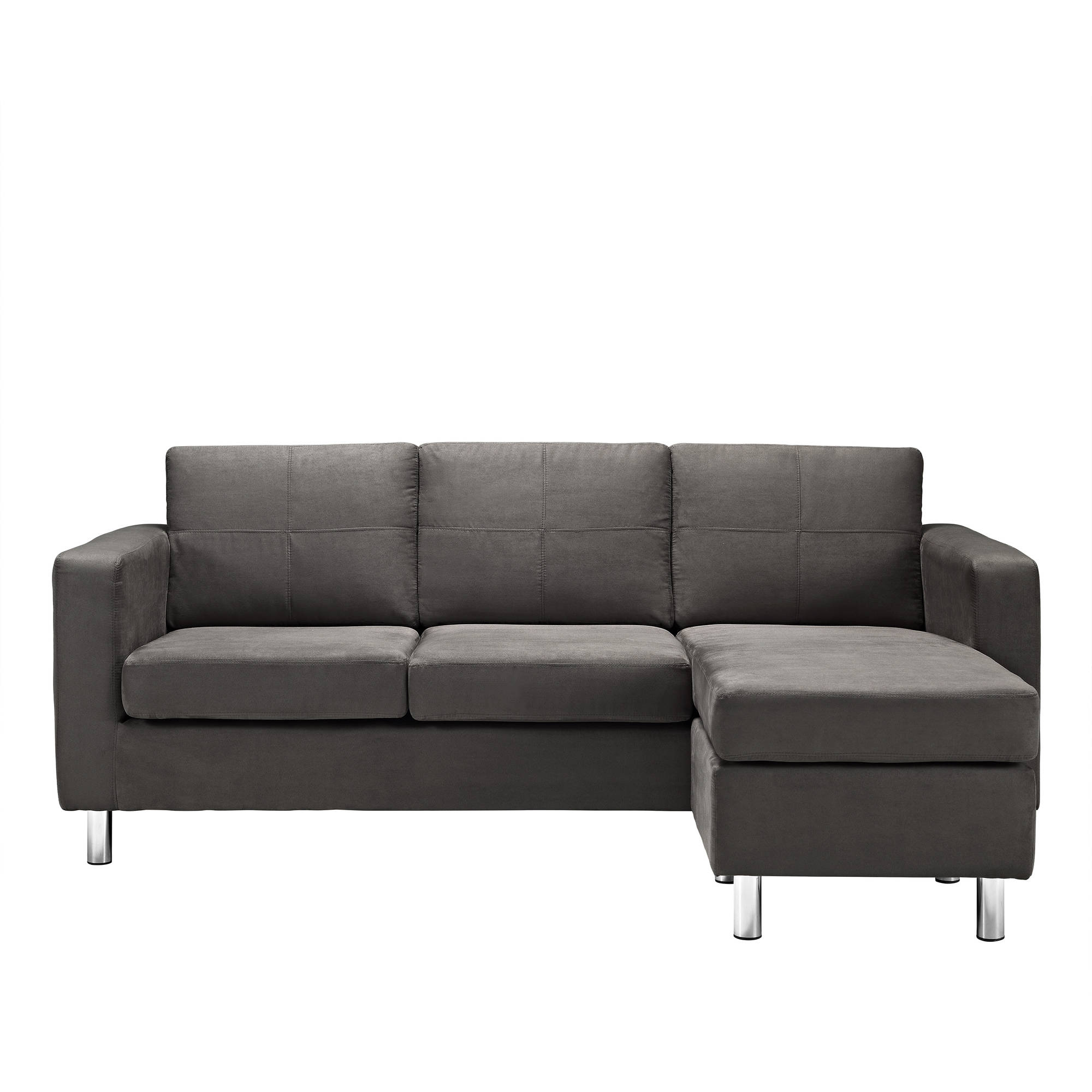 dorel living small spaces configurable sectional sofa multiple colors ebay. Black Bedroom Furniture Sets. Home Design Ideas