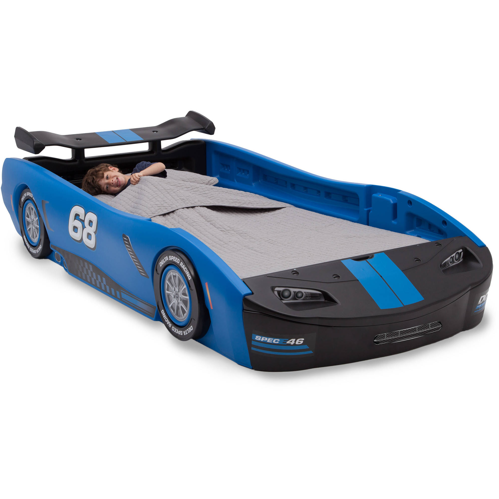 Car Bed Turbo Race Twin Delta