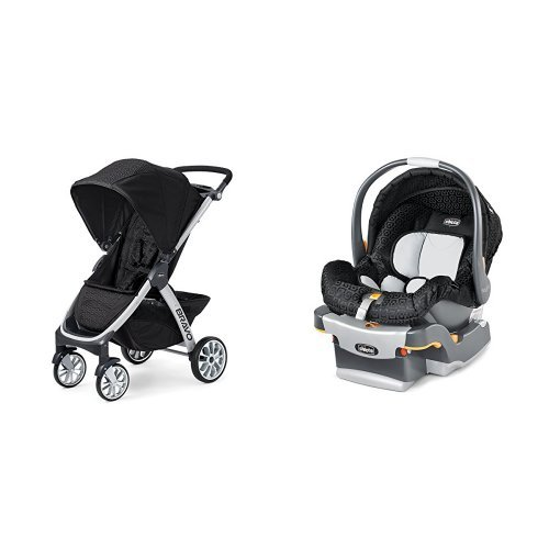 chicco bravo stroller chicco keyfit infant car seat in ombra. Black Bedroom Furniture Sets. Home Design Ideas
