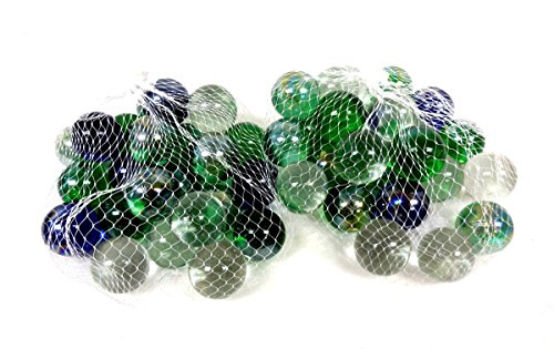 50 Pieces Approx Glass Marbles Set For Party Favor