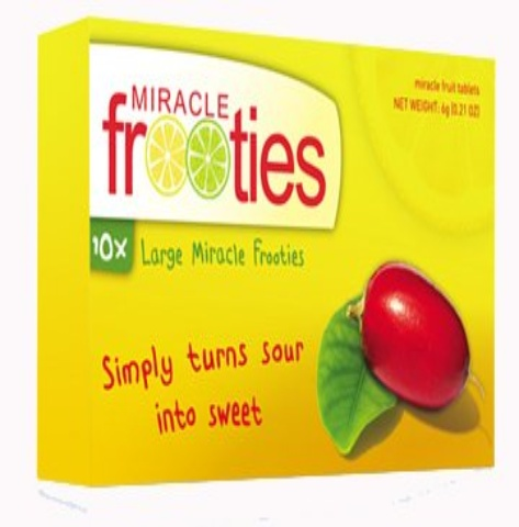 miracle fruit tablets baby fruit size
