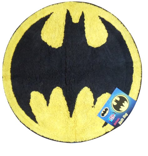 bat signal bath rug batman
