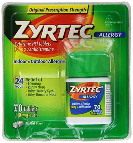 Zyrtec And Other Allergy Medications