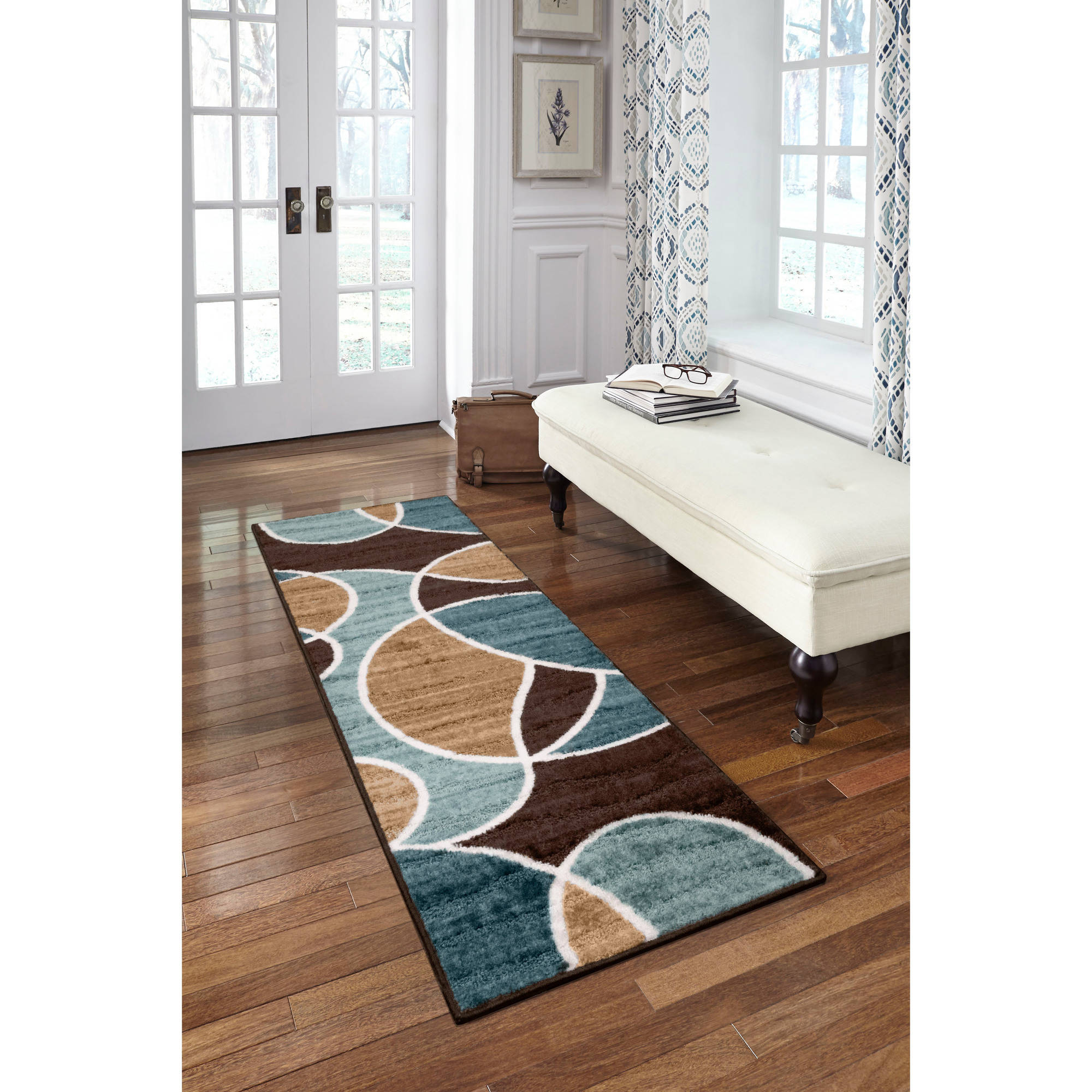 Better Homes And Gardens Geo Waves Area Rug Or Runner Ebay