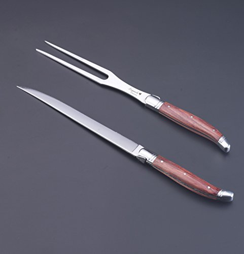 Flyingcolors carving set laguiole style knife