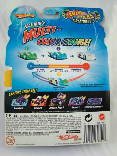 hot wheels color shifters creatures 1 64 car buzzkill. Black Bedroom Furniture Sets. Home Design Ideas
