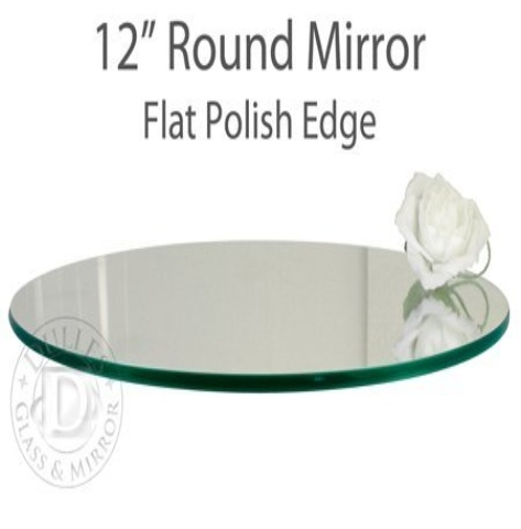 Set of 10 12 round glass table mirrors for wedding and pa for 12 inch round table mirrors