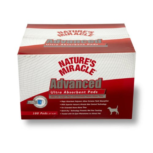 Nature S Miracle Advanced Ultra Absorbent Pads
