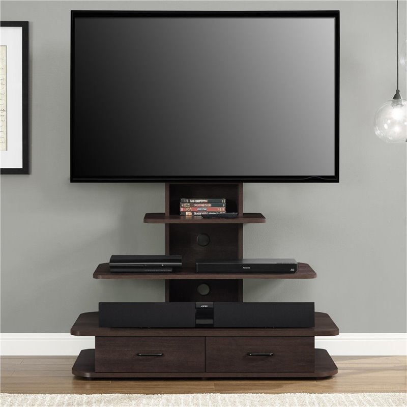 Ameriwood Home Galaxy Xl Tv Stand With Drawers For Tvs Up To 70 Multiple