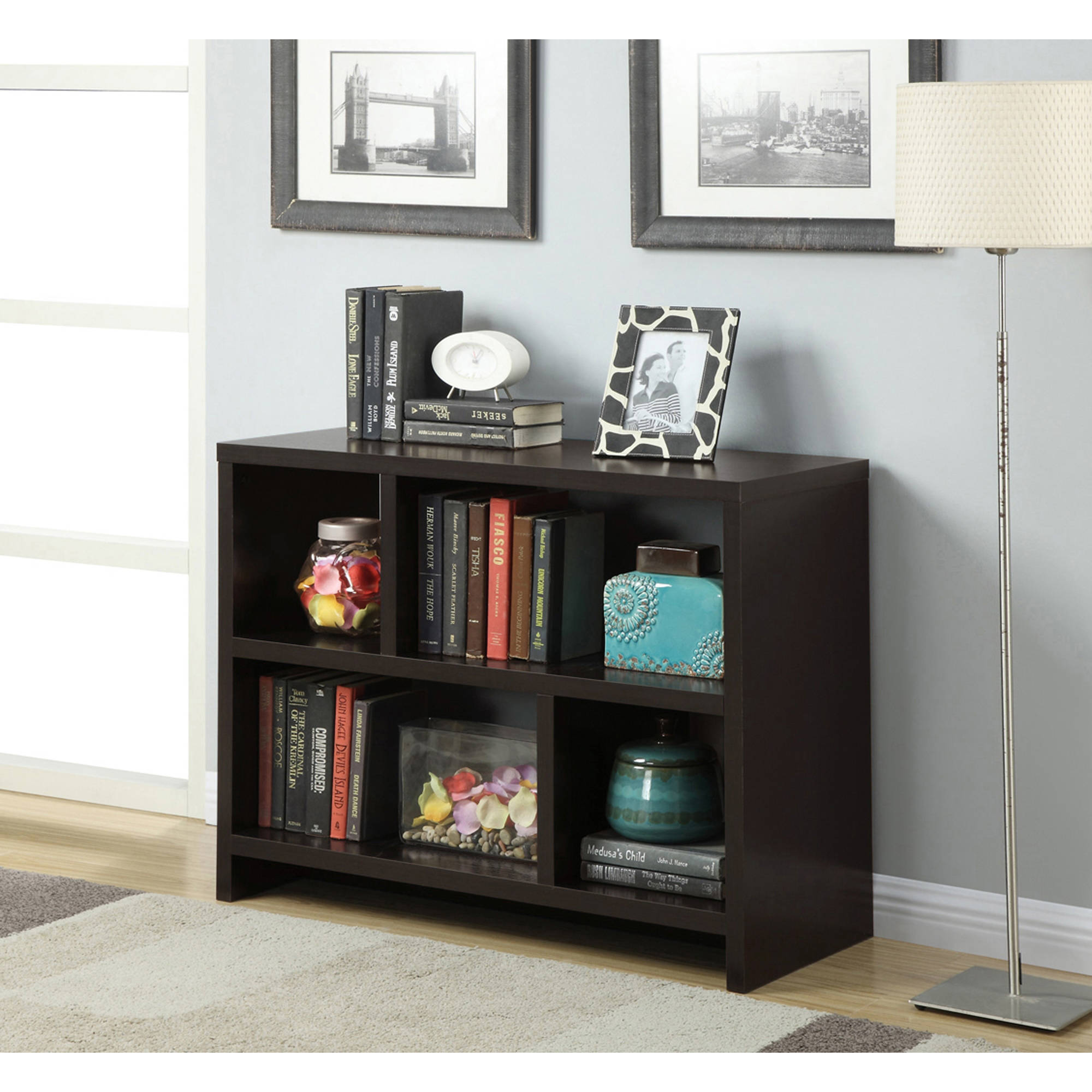 Convenience concepts inc 111085 northfield bookend console table convenience concepts inc 111085 northfield bookend console table about this product picture 1 of 5 geotapseo Image collections