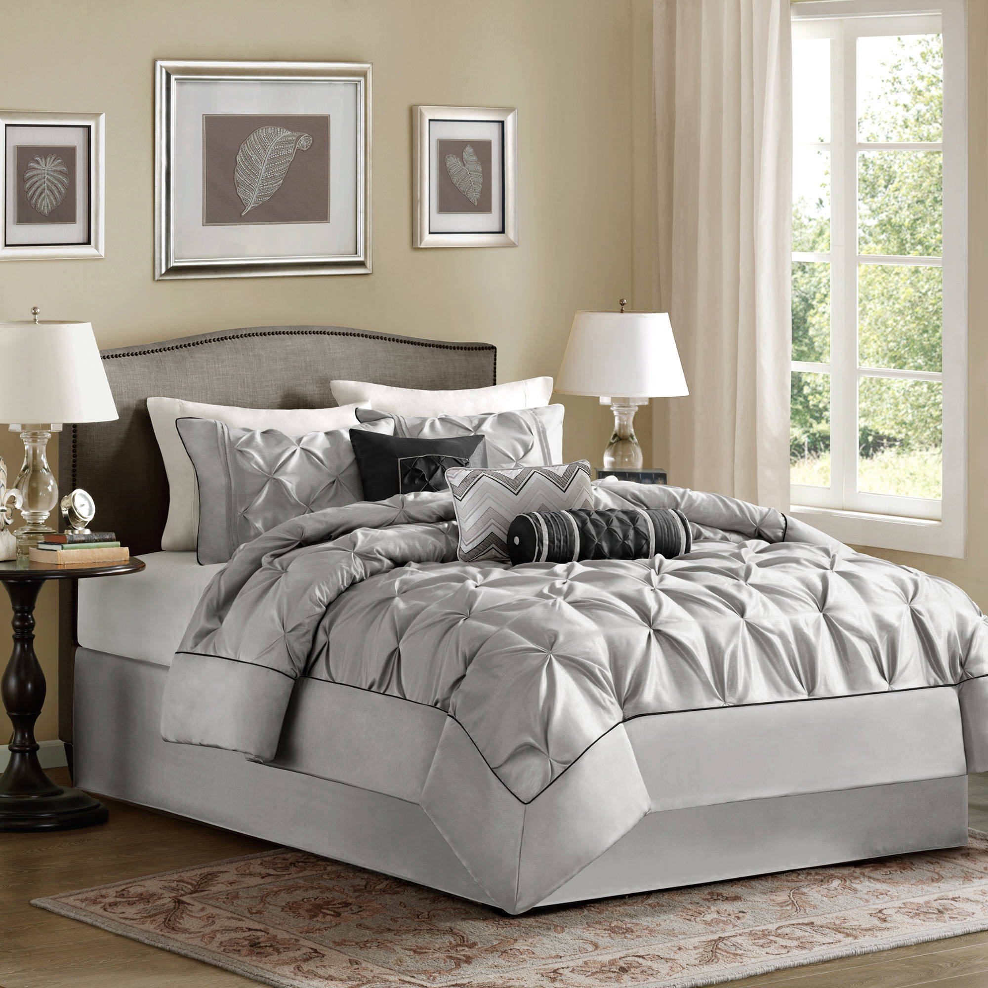 black stylish bedspread intended house to grey gray beautiful beds bath sets bedding with bed set king regard beyond for and your comforter also