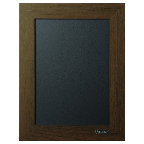 Quartet Chalkboard 85 X 11 Inches Wood Finish Frame 80214