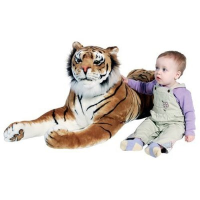 Giant Tiger Plush Ebay