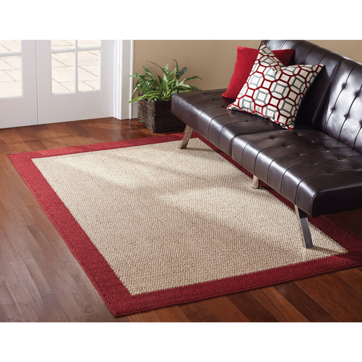 Mainstays Faux Sisal 3 Piece Area Rug Set Ebay
