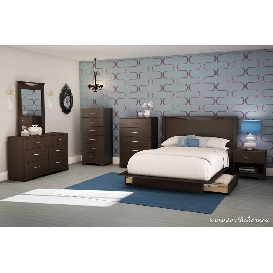 Bed furniture with drawers -  Picture 11 Of 33