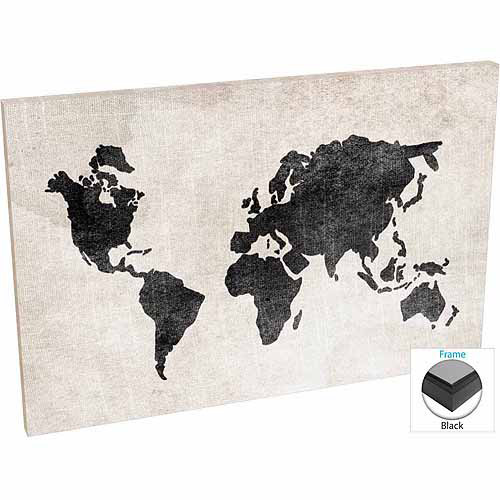 Distressed vintage travel old world map linen texture black white resntentobalflowflowcomponentncel gumiabroncs Image collections