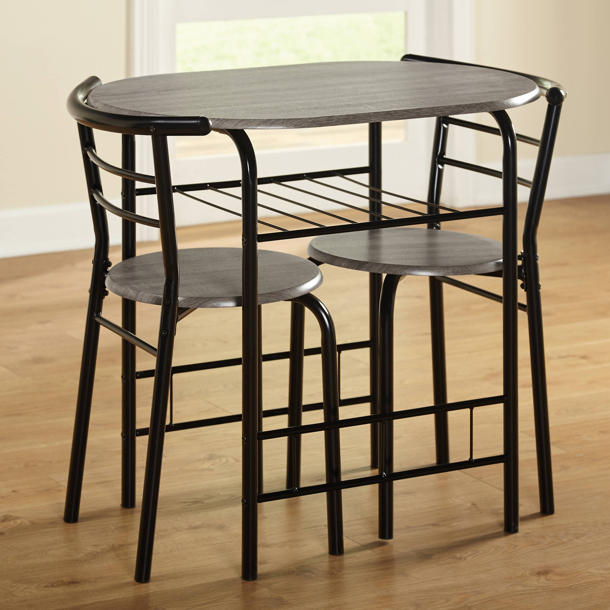 ... Picture 2 of 3; Picture 3 of 3. 3-Piece Bistro Set ... & Bistro Table Set 3 Piece Dining for 2 Furniture Chair Kitchen Coffee ...