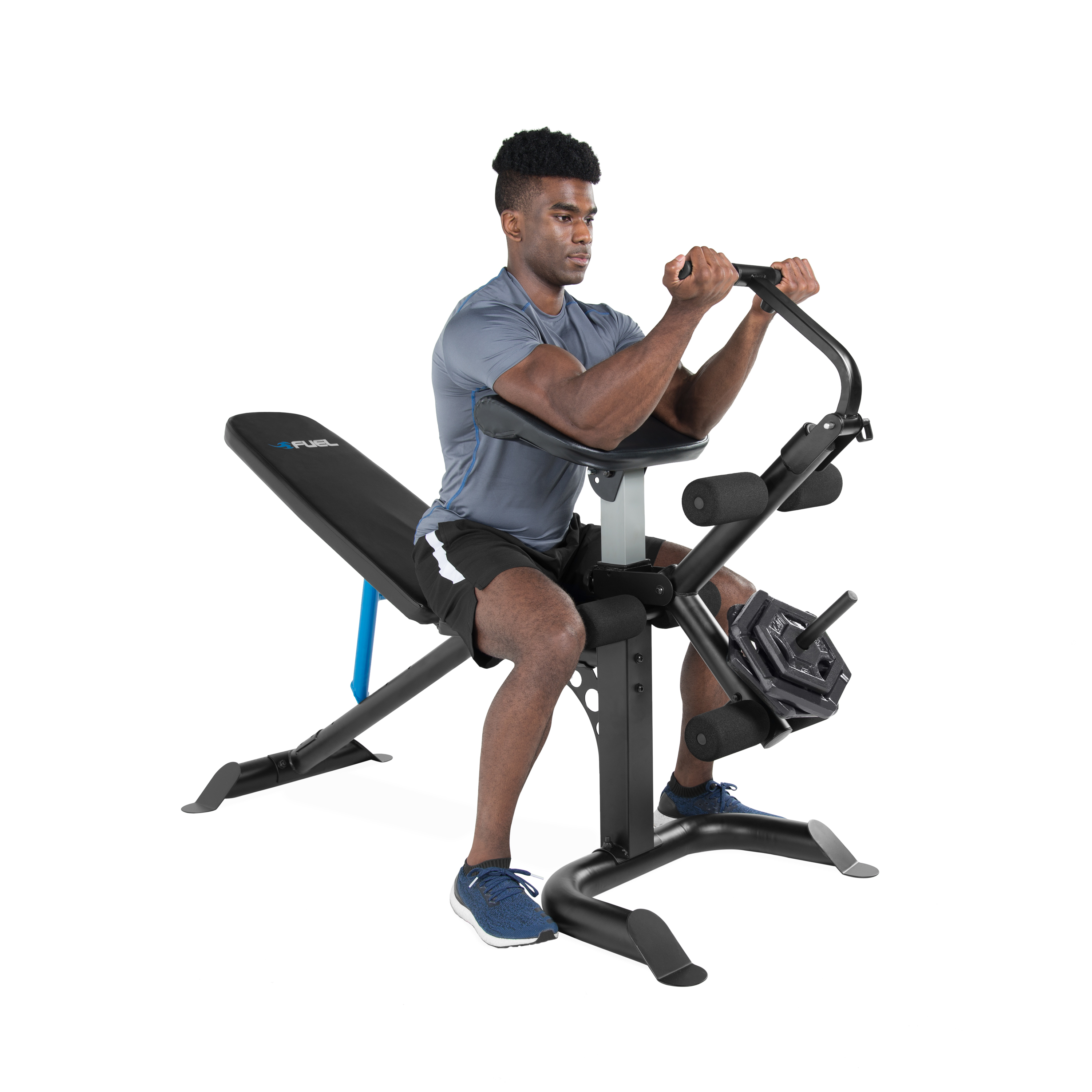 Super Details About Full Body Workout Machine Bench Press Arm Preacher Curl Leg Weight Lifting Gym Pdpeps Interior Chair Design Pdpepsorg
