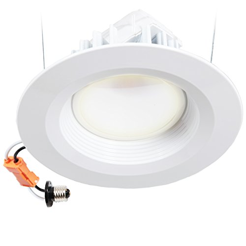 led lighting for kitchen maxxima dimmable led 6 quot recessed retrofit downlight fixture 6928