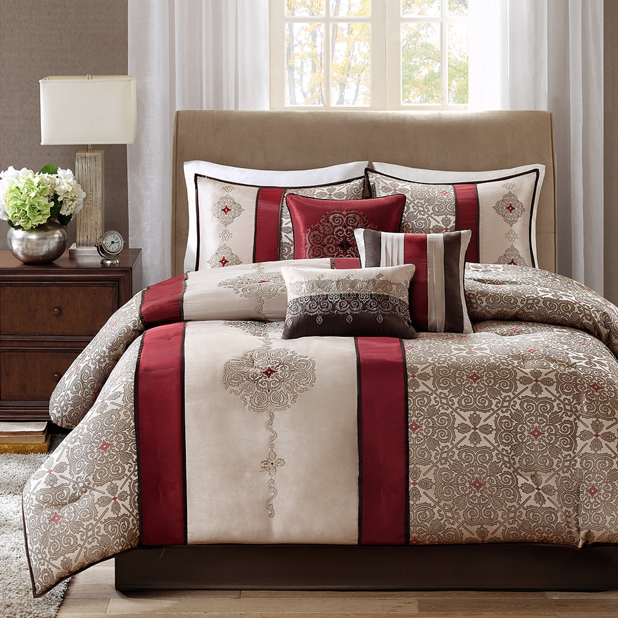 Home Essence Perry Bedding Comforter Set; Picture 2 Of 6 ... Pictures