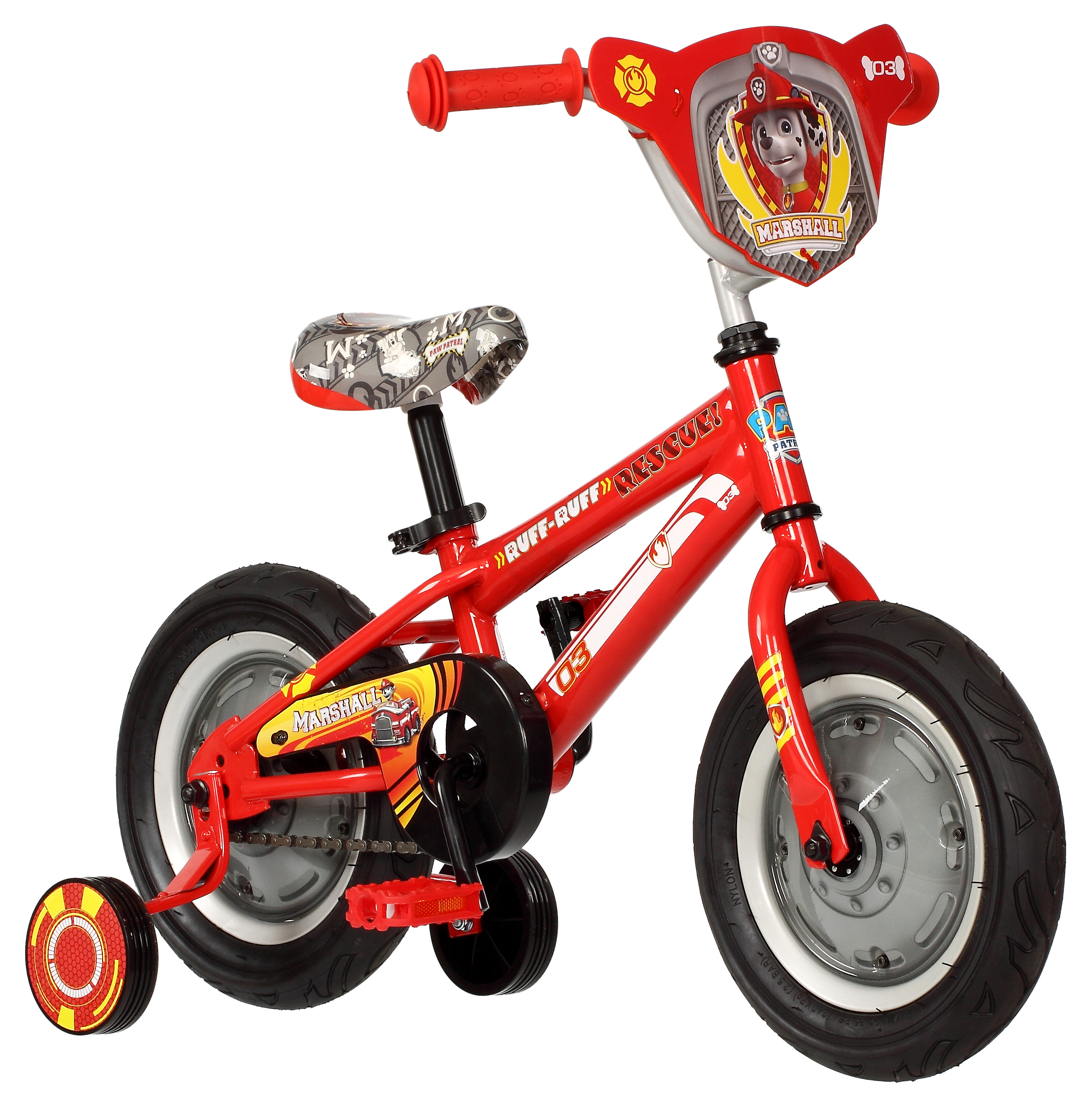 12 Paw Patrol Boys Bike Toddler Bicycle Training Wheels 2 To 4