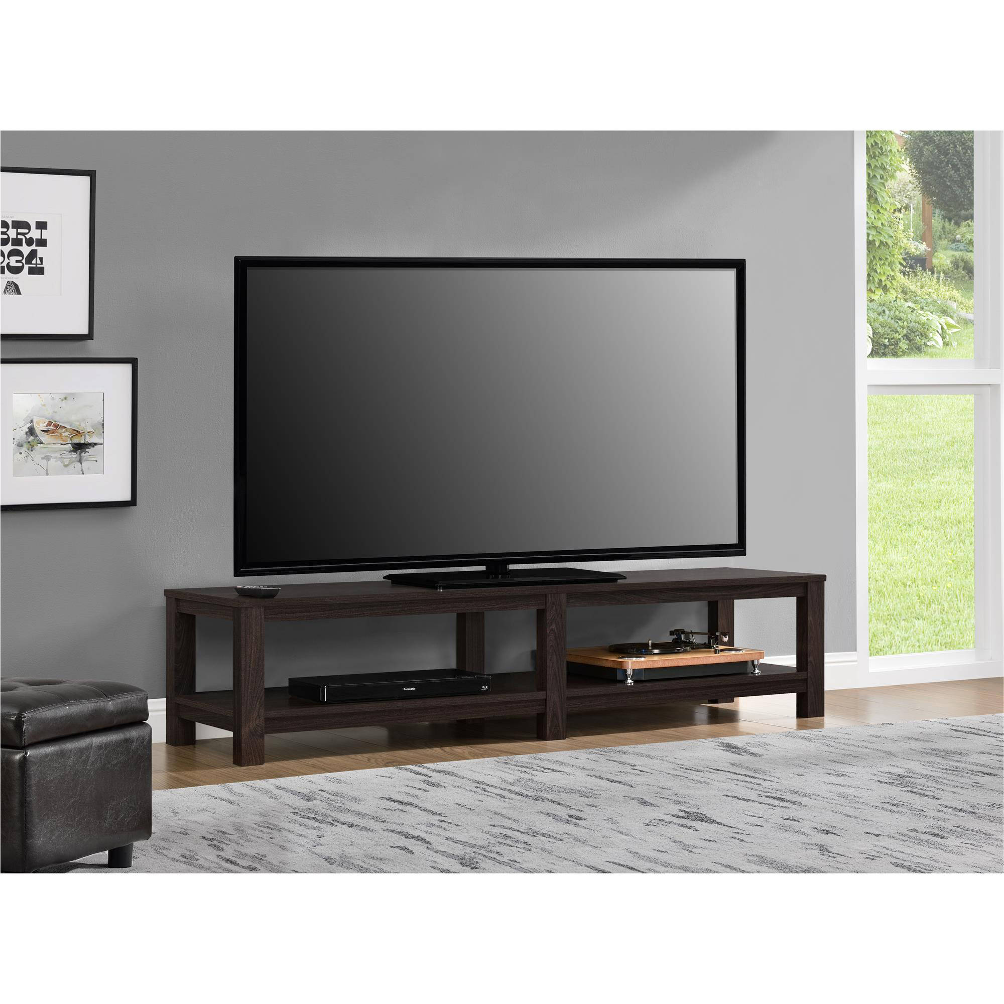 65 Inch Tv Media Entertainment Stand Console Table Mount Storage Modern Profile