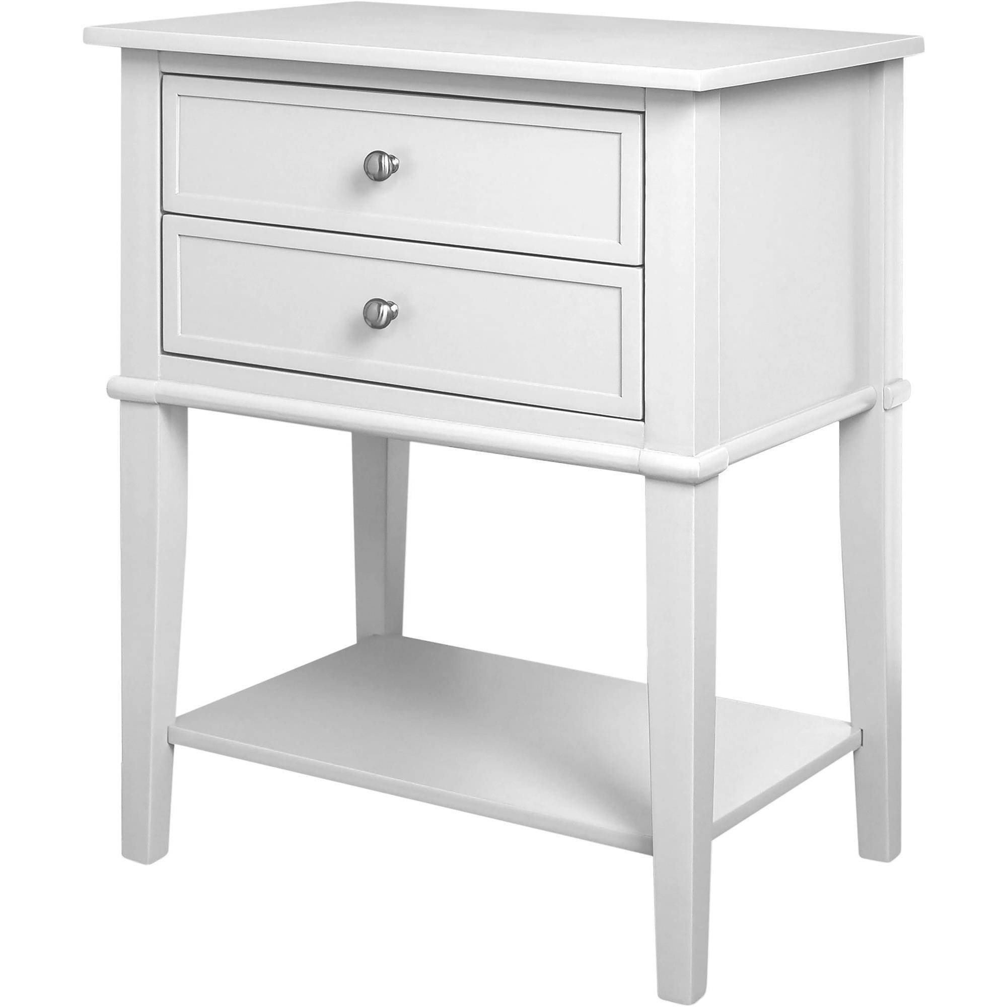 tables drawers cappuccino with finish and rack accent end table side magazine
