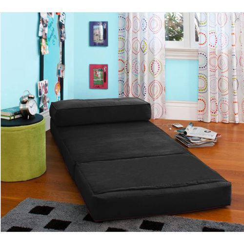 Fold Down Chair Flip Out Lounger Convertible Sleeper Bed