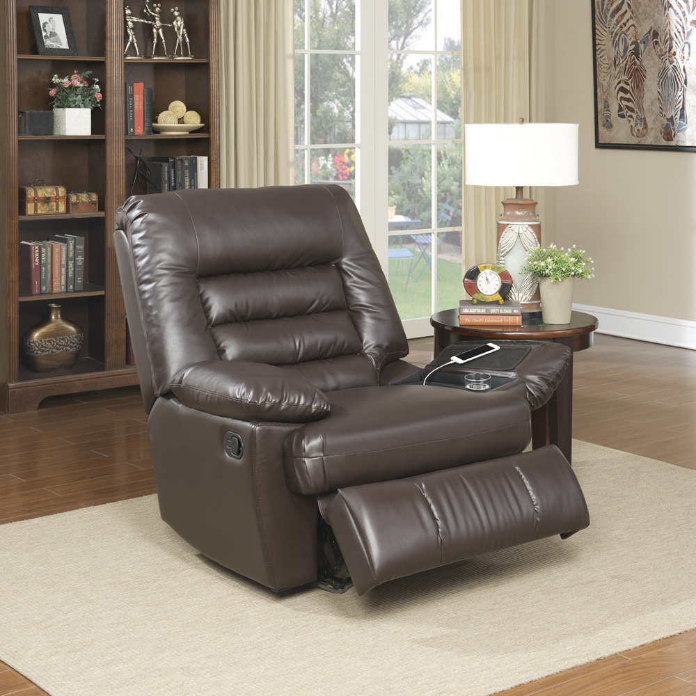 Serta Tall Memory Foam Mage Recliner Multiple Colors Dark Decoration Comfy Room Chairs Living