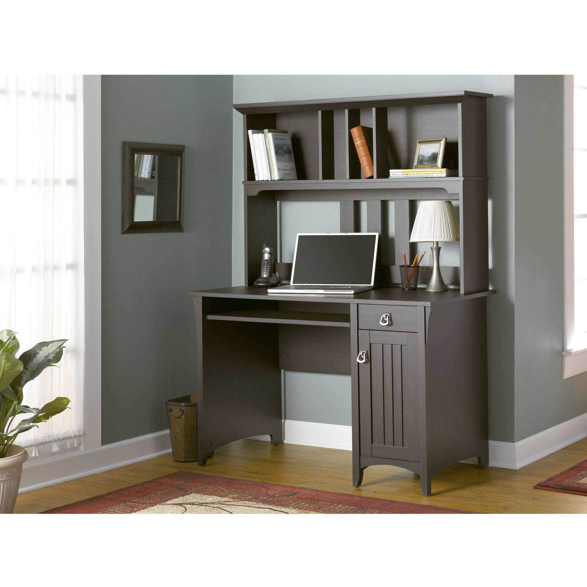 Modern Computer Desk Writing Office Hutch Contemporary Laptop Home Furniture New Ebay