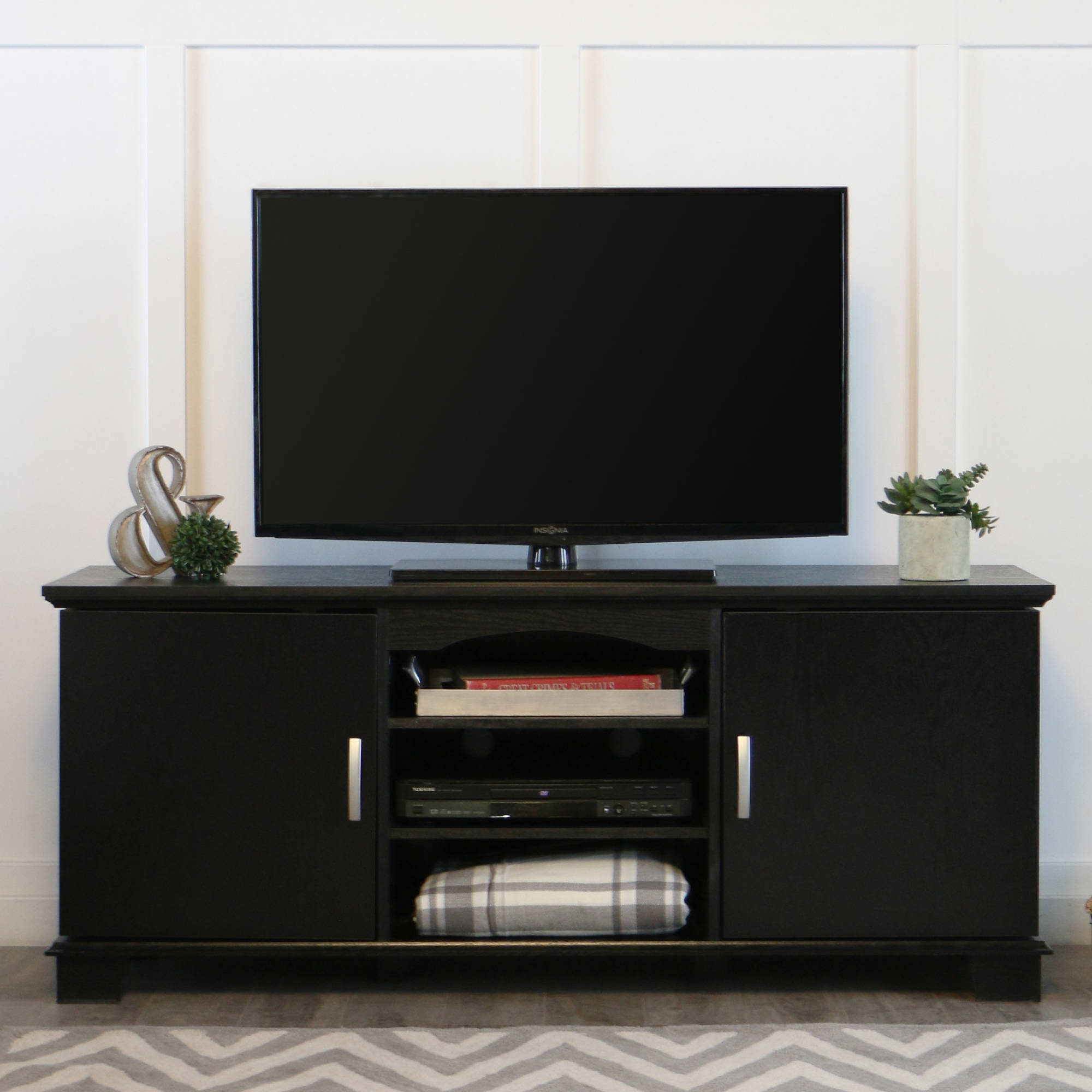 Stock Photo Picture 1 Of 4  Black 65 Inch Tv Stand EBay64