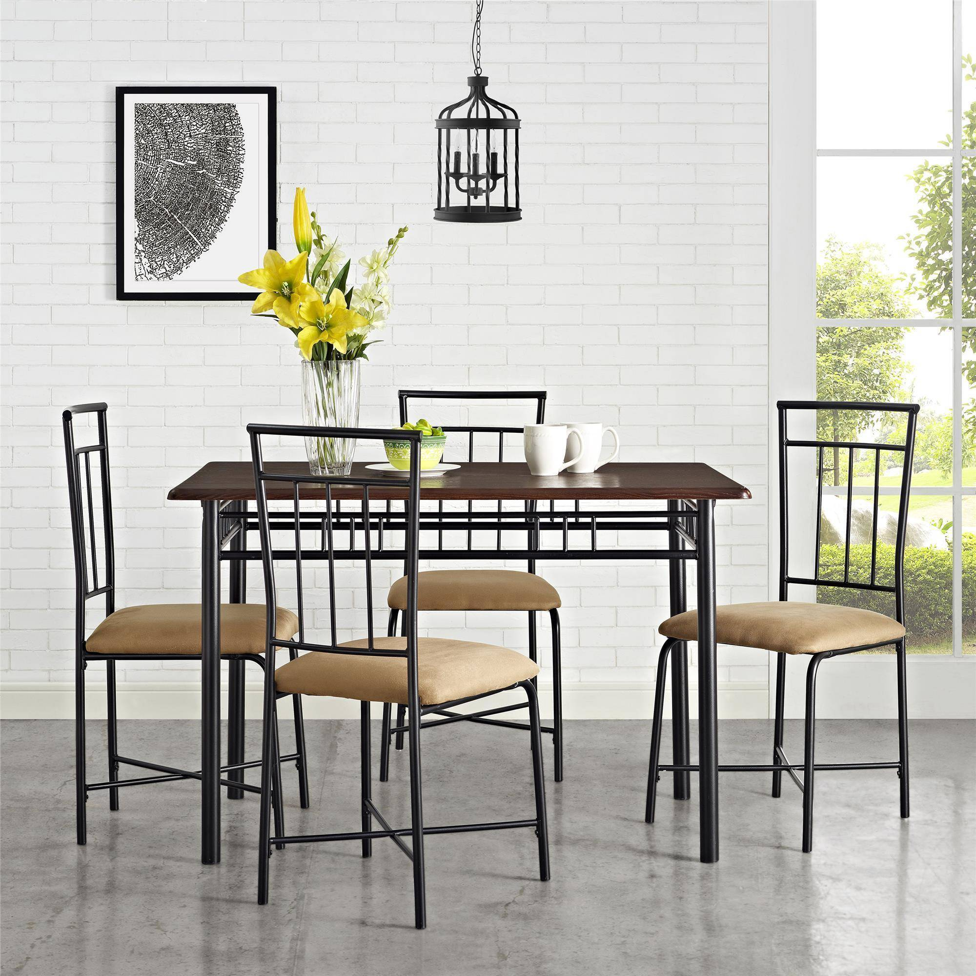 Delicieux Mainstays 5 Piece Dining Set, Multiple Colors
