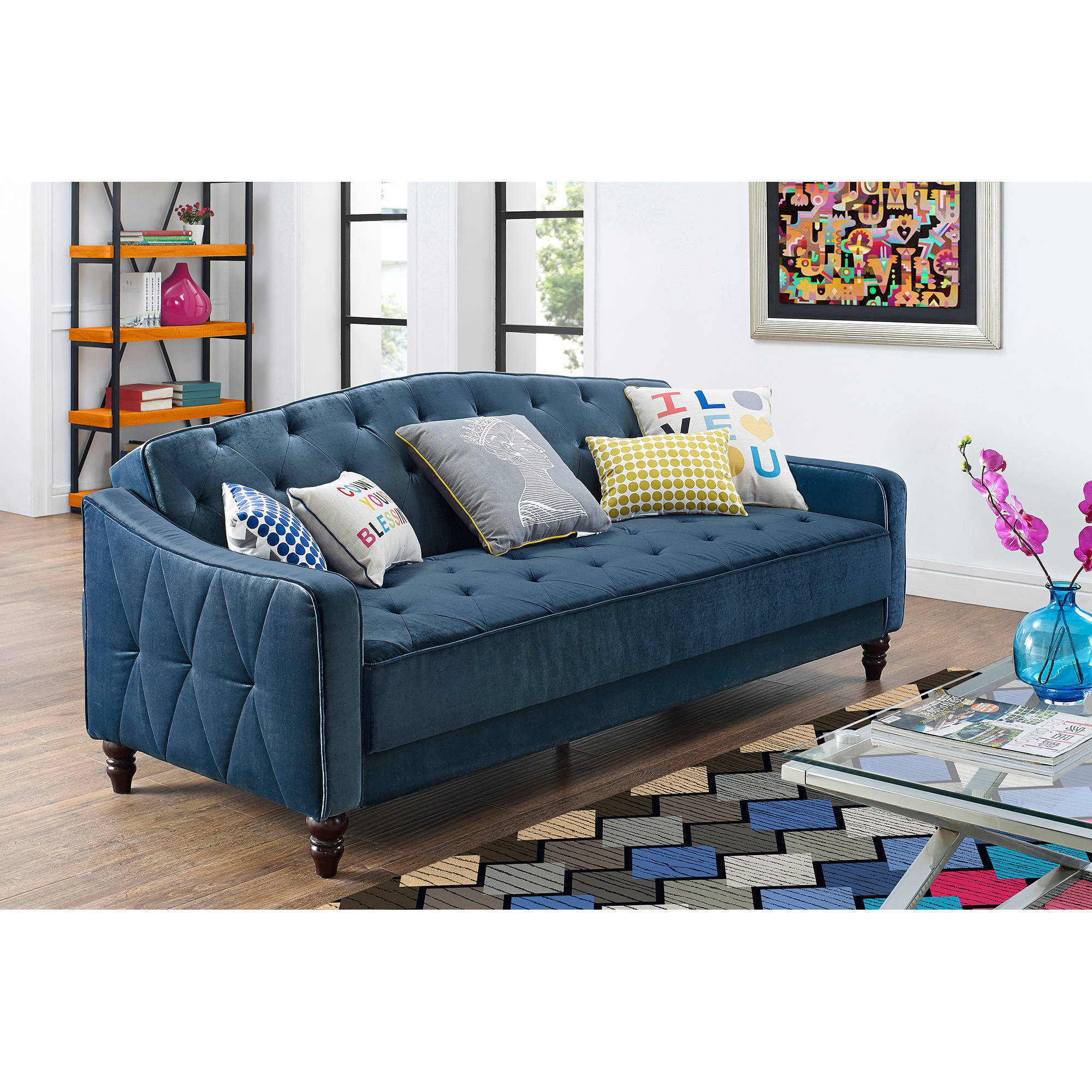 sleeper chaise queen w jarreau sale for blue sofa tepperman s futon beds