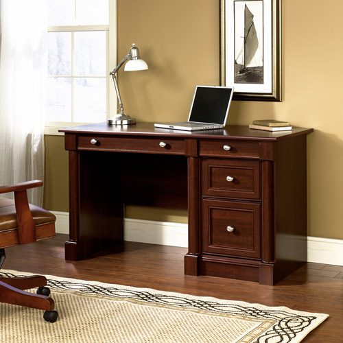Sauder Palladia Computer Desk Multiple Finishes