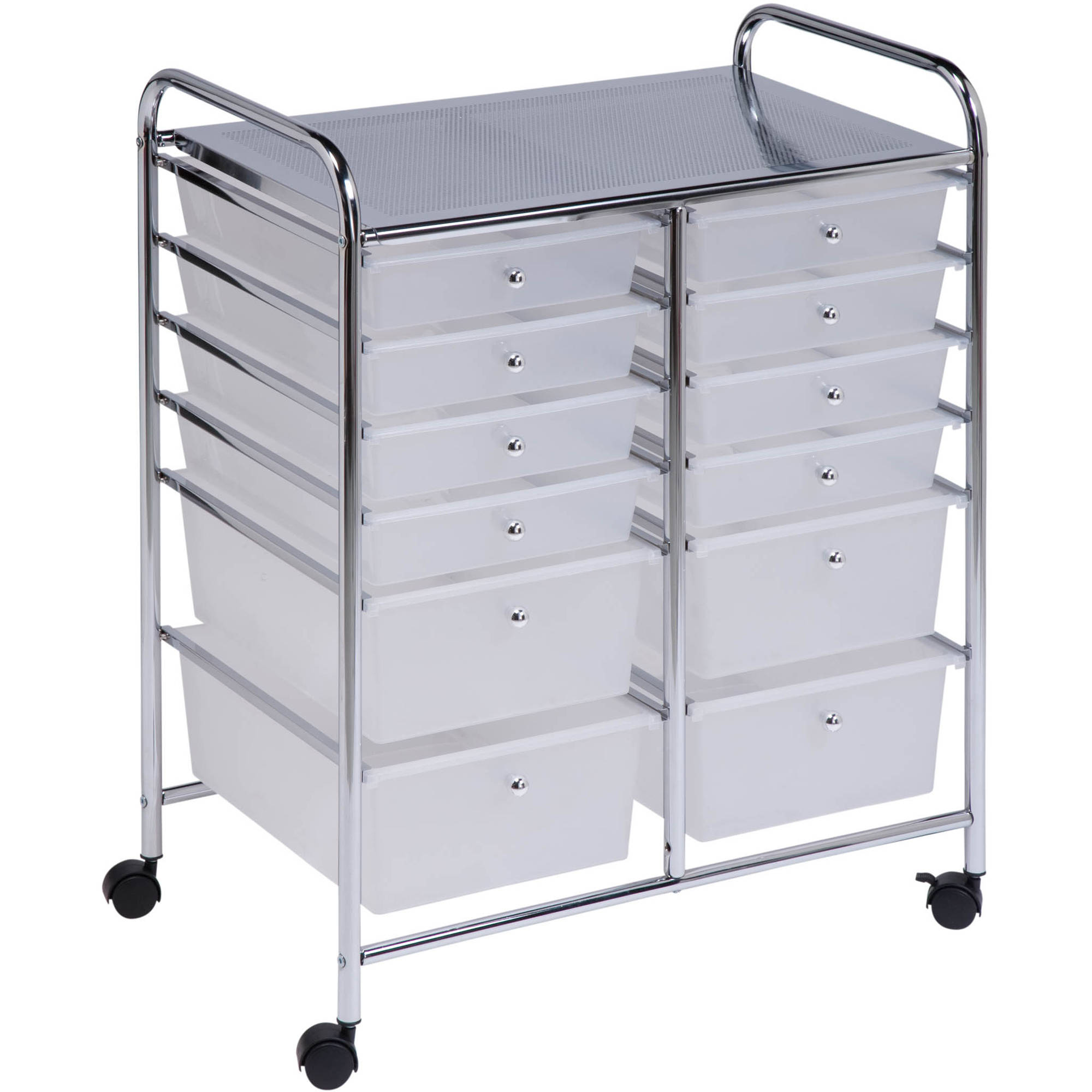 office rolling cart. Honey Can Do 12 Drawer Rolling Cart, Crt 01683, Clear 689988942733 Small Cart 8 Office