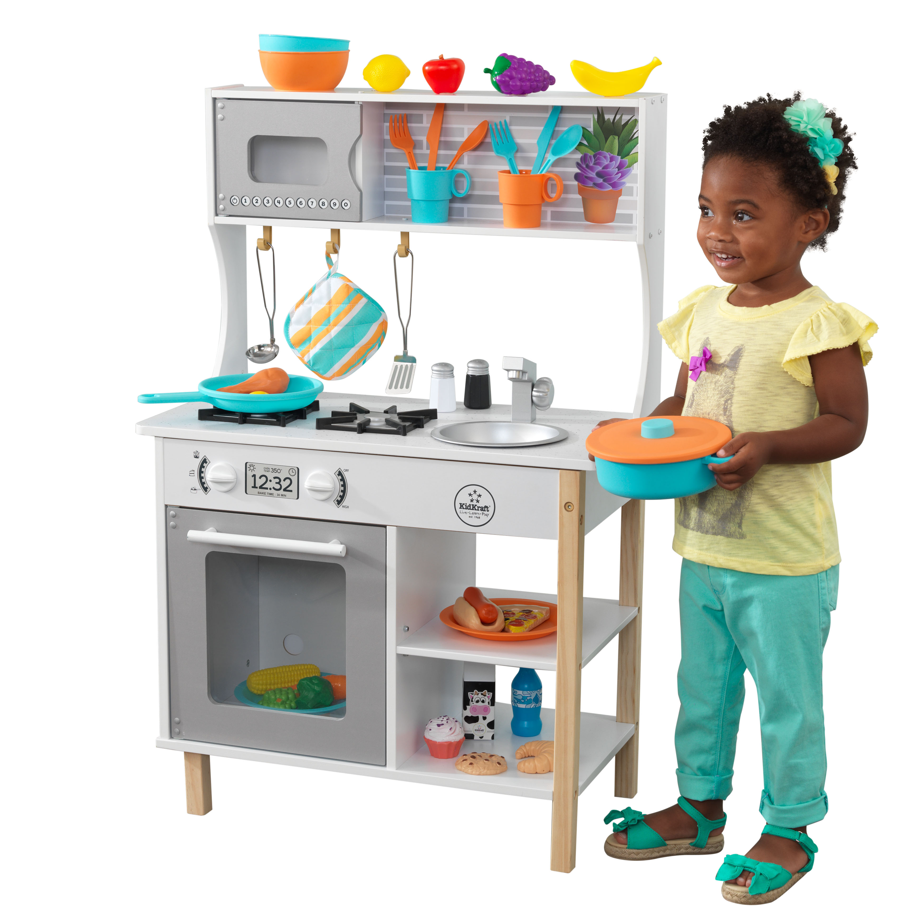KidKraft All Time Play Kitchen with Accessories | eBay