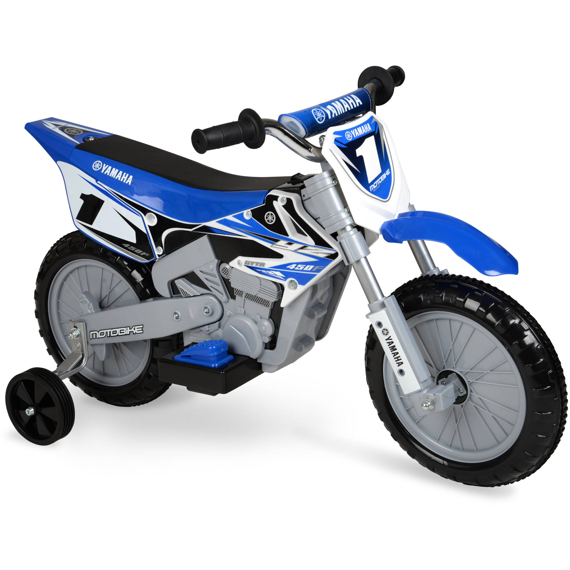 Yamaha 6 volt Motorcycle Blue Kids Ride Electric Fast Gift