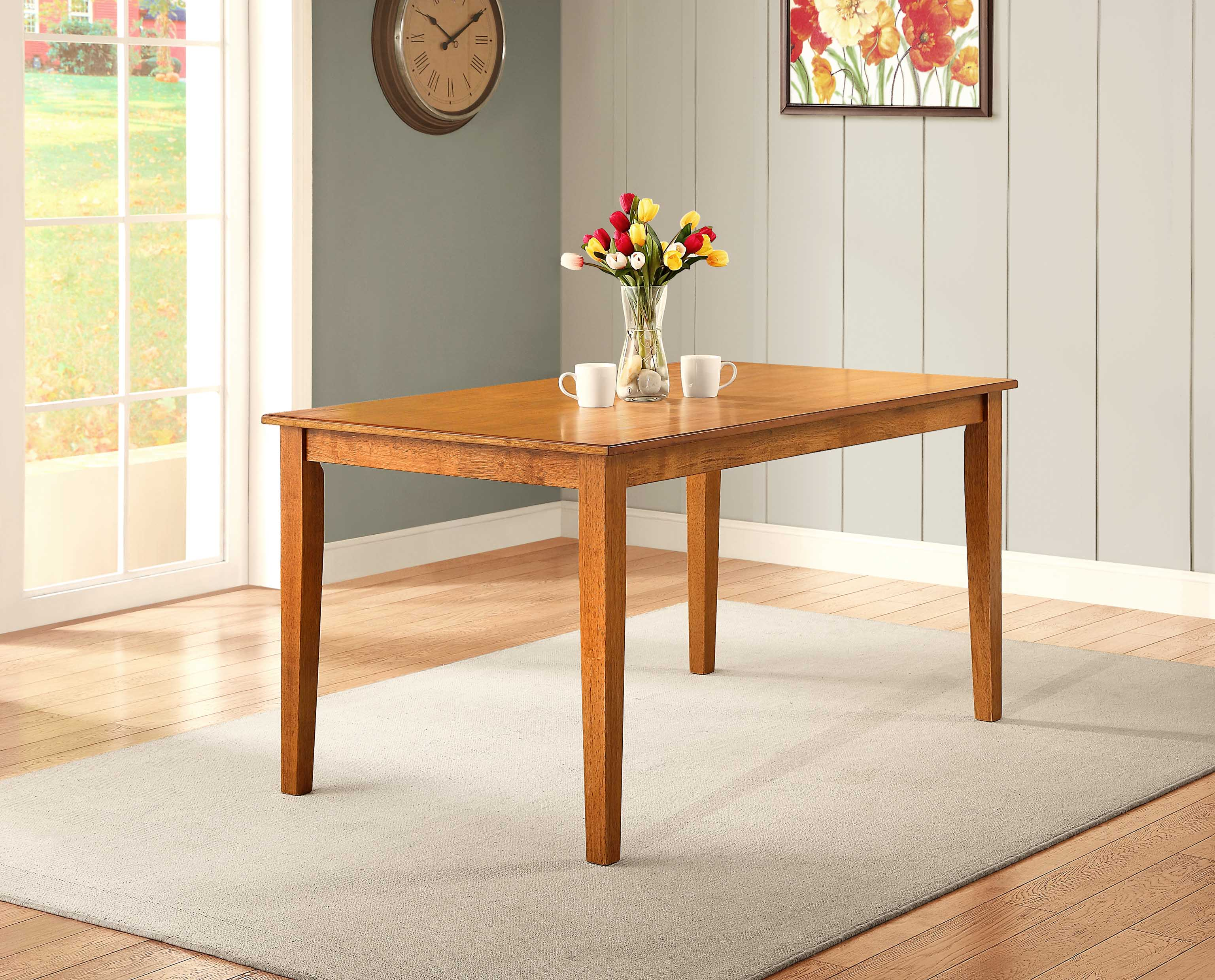 Better Homes And Gardens Bankston Dining Table Honey 764053492334