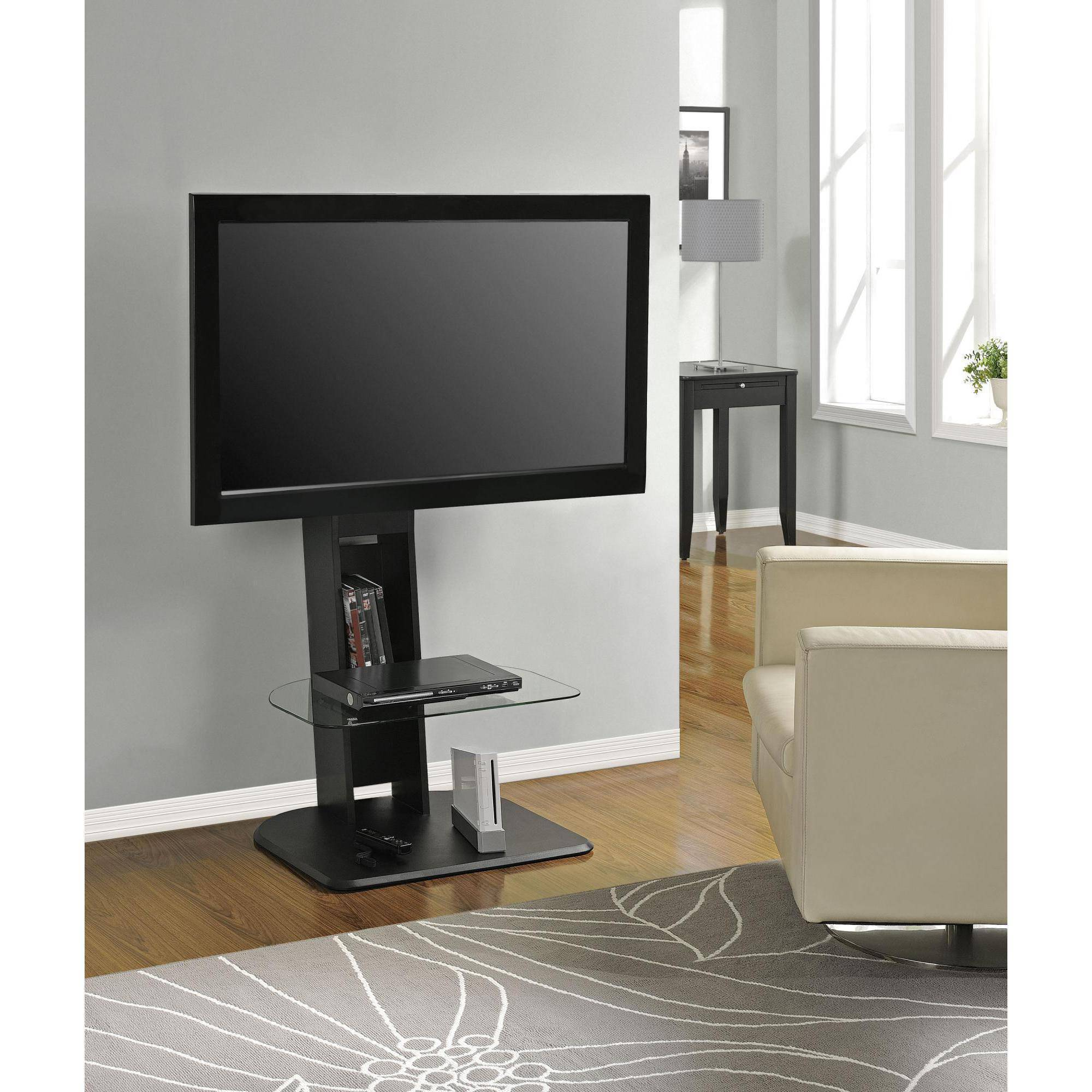 Elegant Tv Mount Stand Media Entertainment Console Center Home