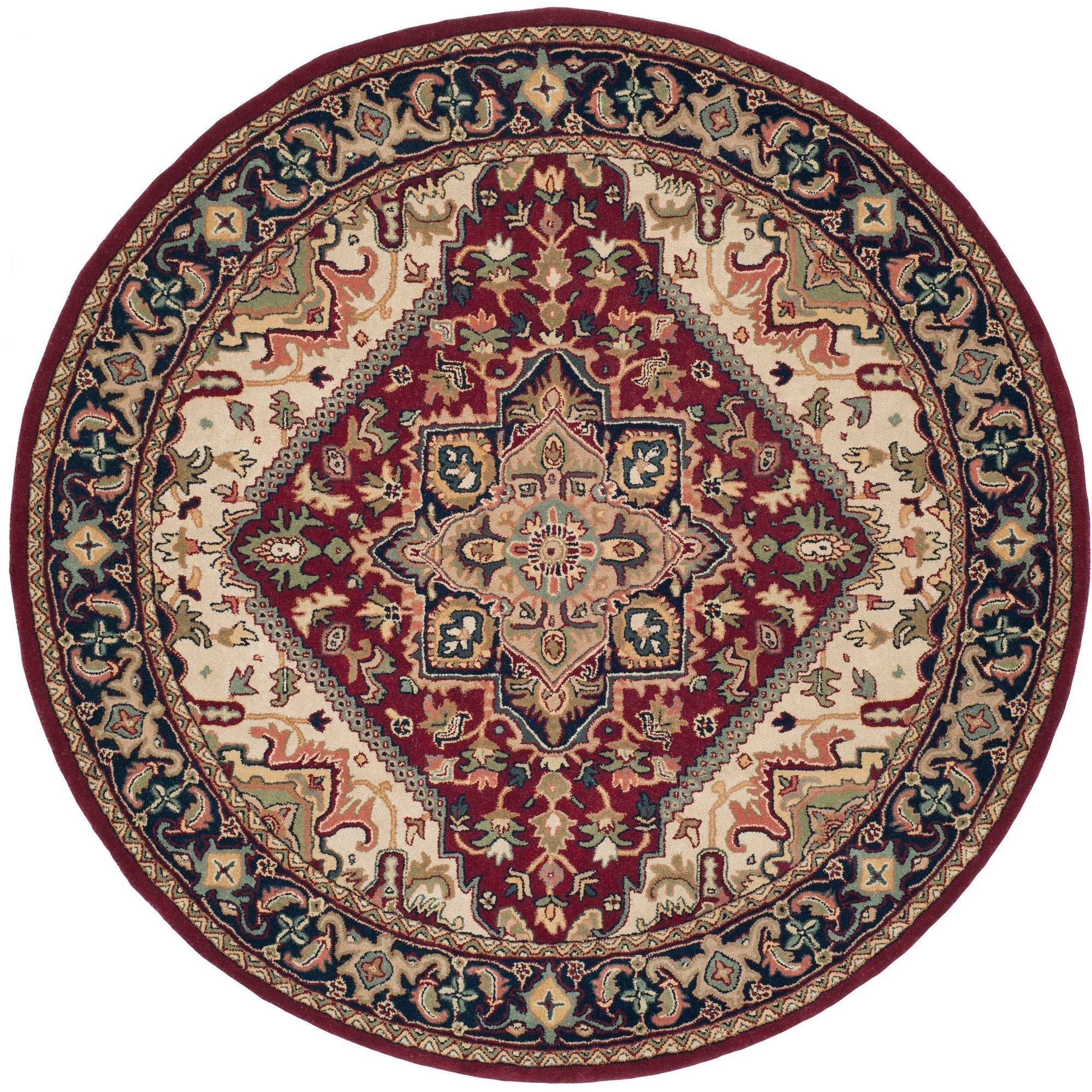Round Area Rug 3 Feet 6 About This Picture 1 Of 5 2