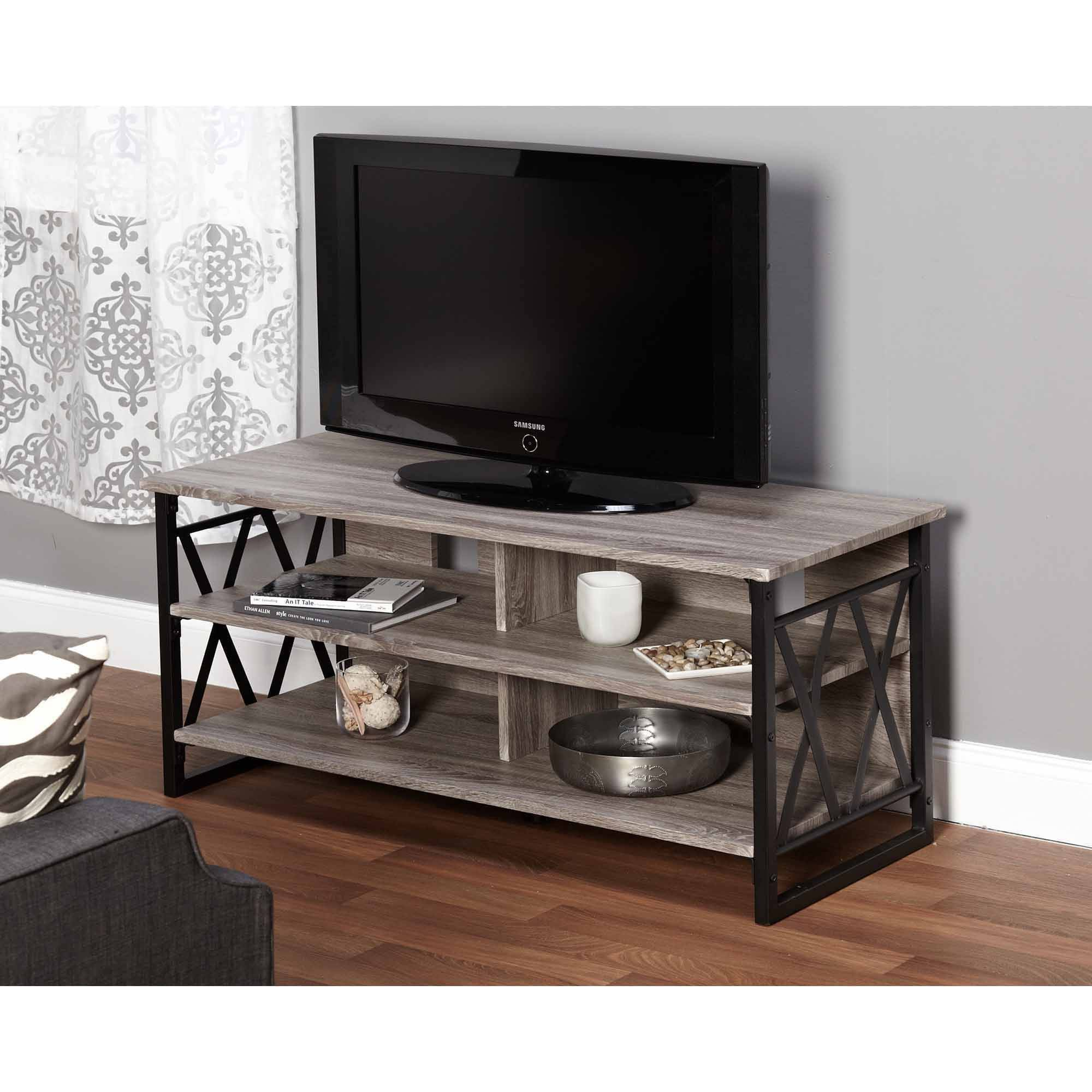 Jaxx Collection Tv Stand For Tvs Up To 48 Multiple Finishes Ebay