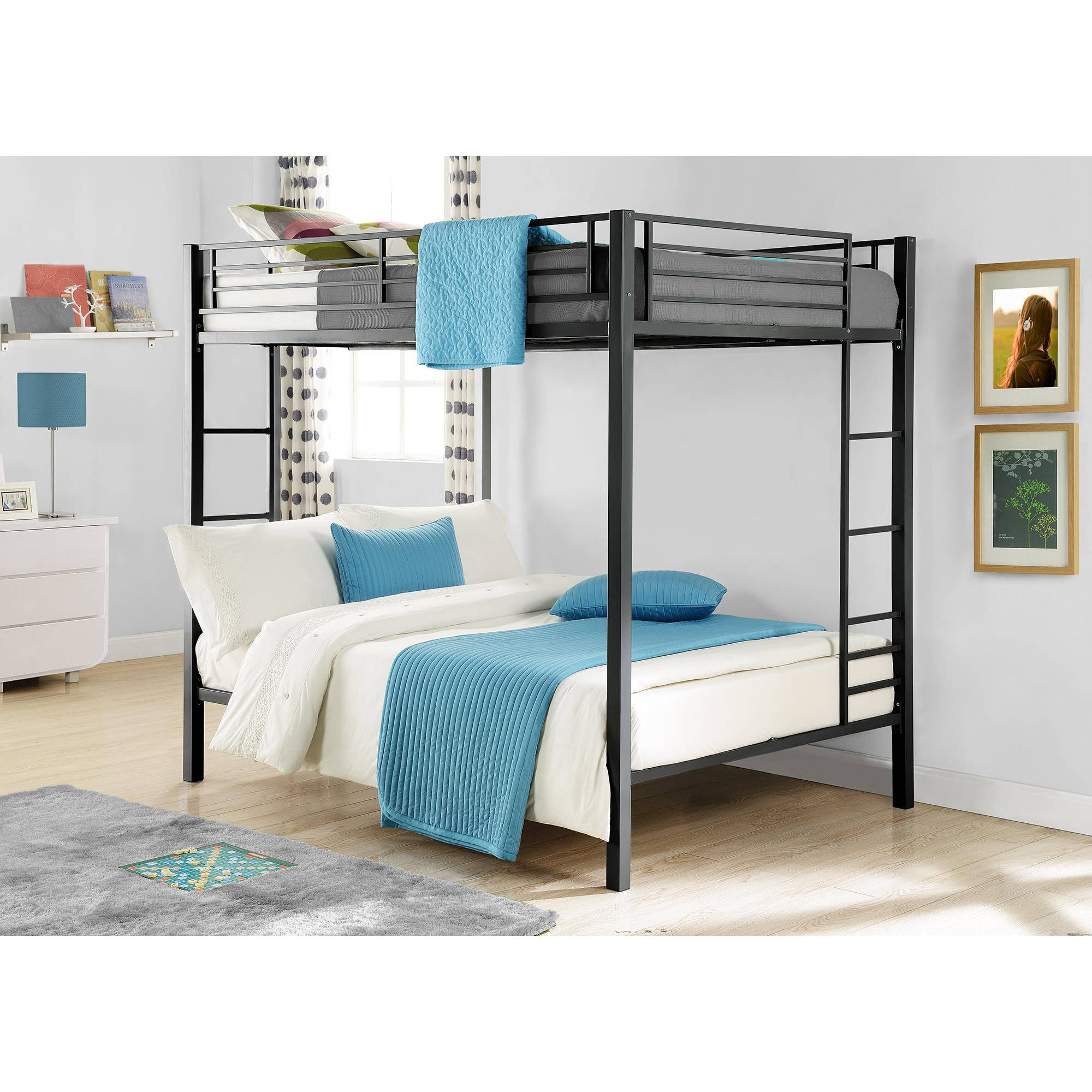 Bunk Beds On Sale Kids Full Size Over Double Bedroom Loft Furniture ...