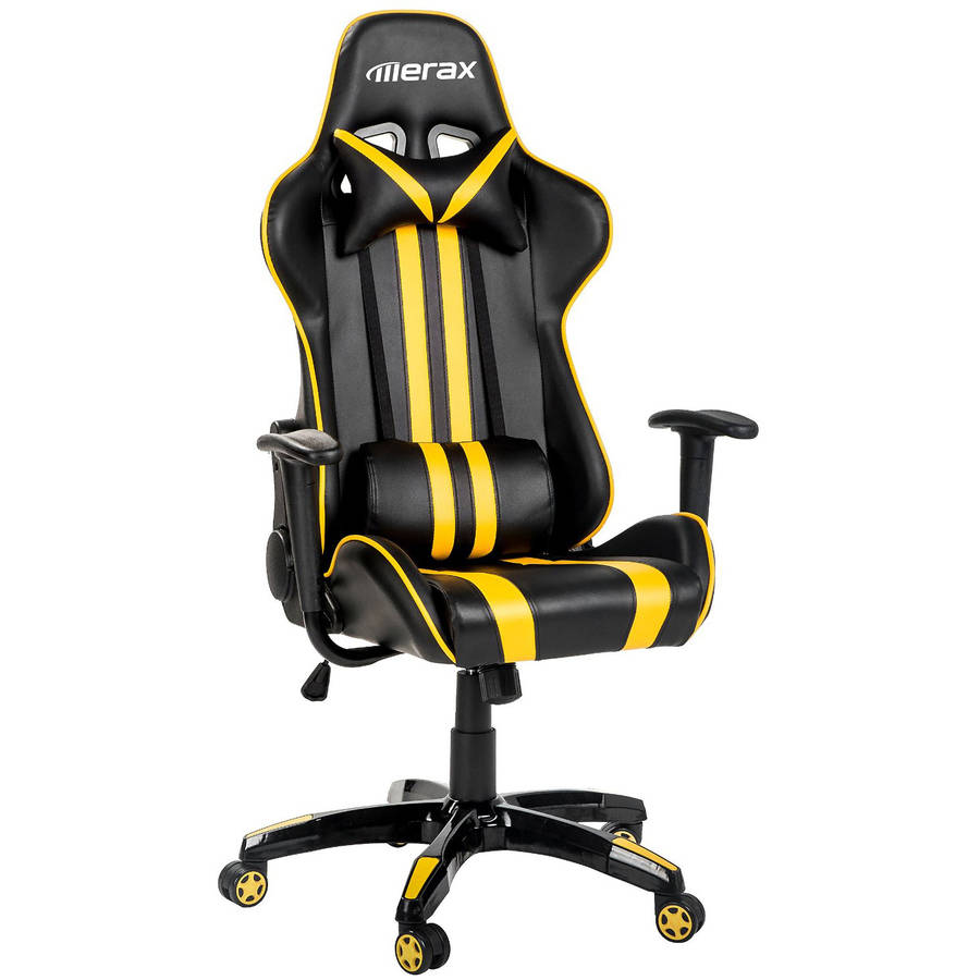 Merax Racing Style Gaming Chairexecutive Swivel Leather Office